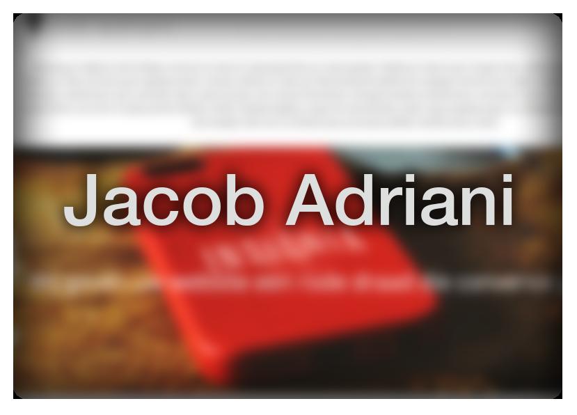 Jacob Adriani