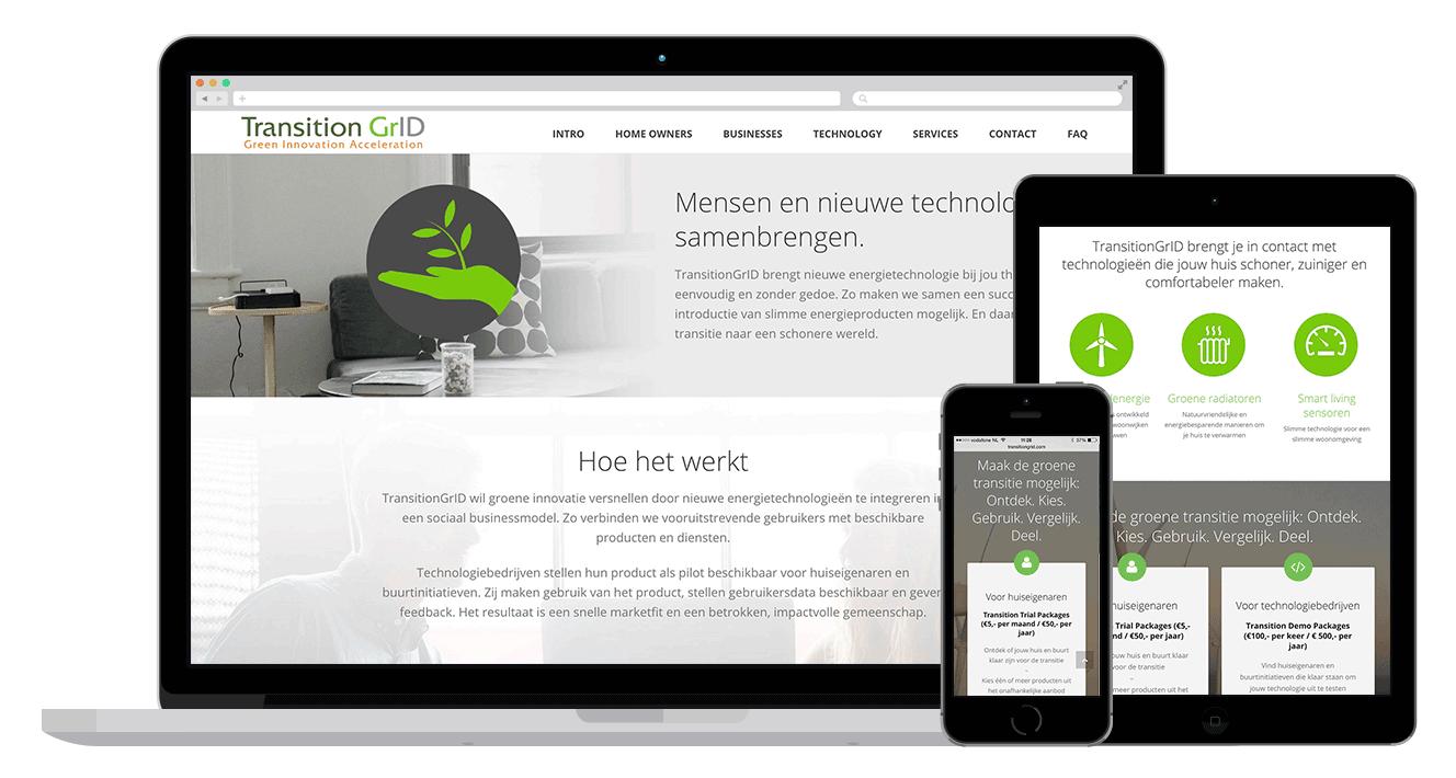 moderne zakelijke goedkope website laten maken
