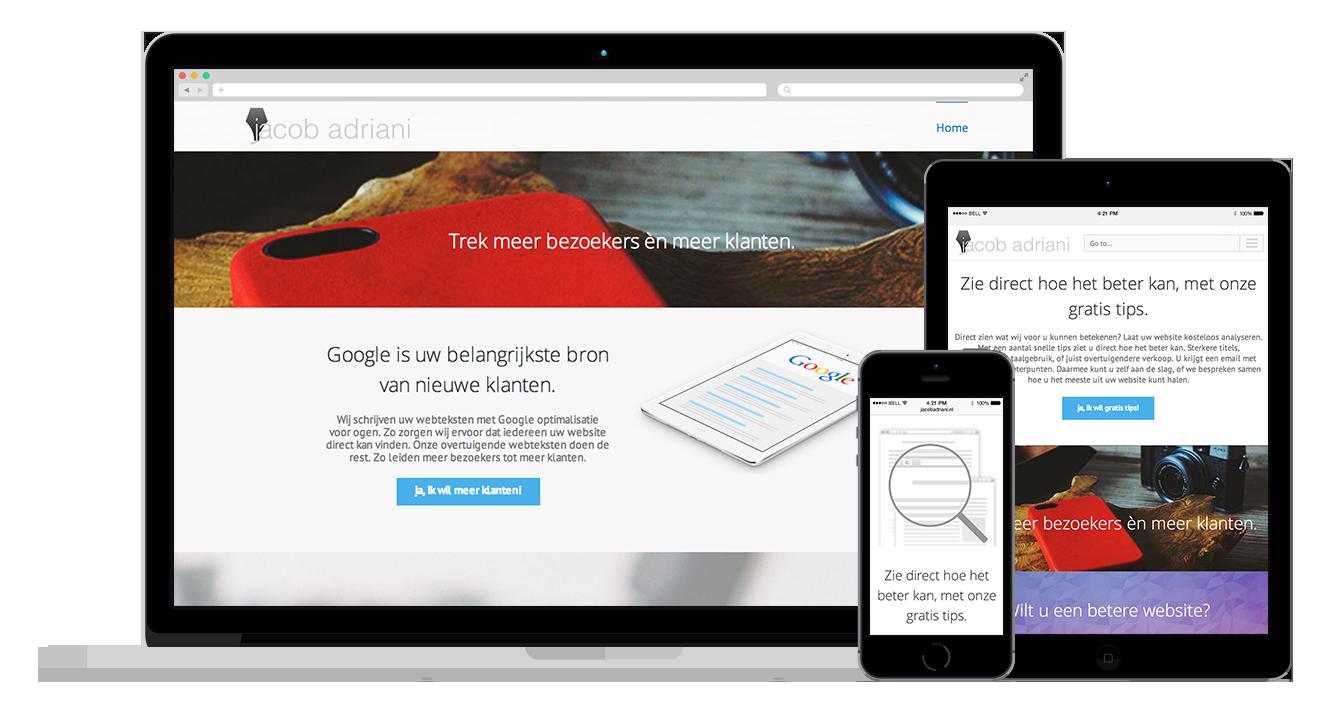 goede webteksten en modern design alkmaar amsterdam