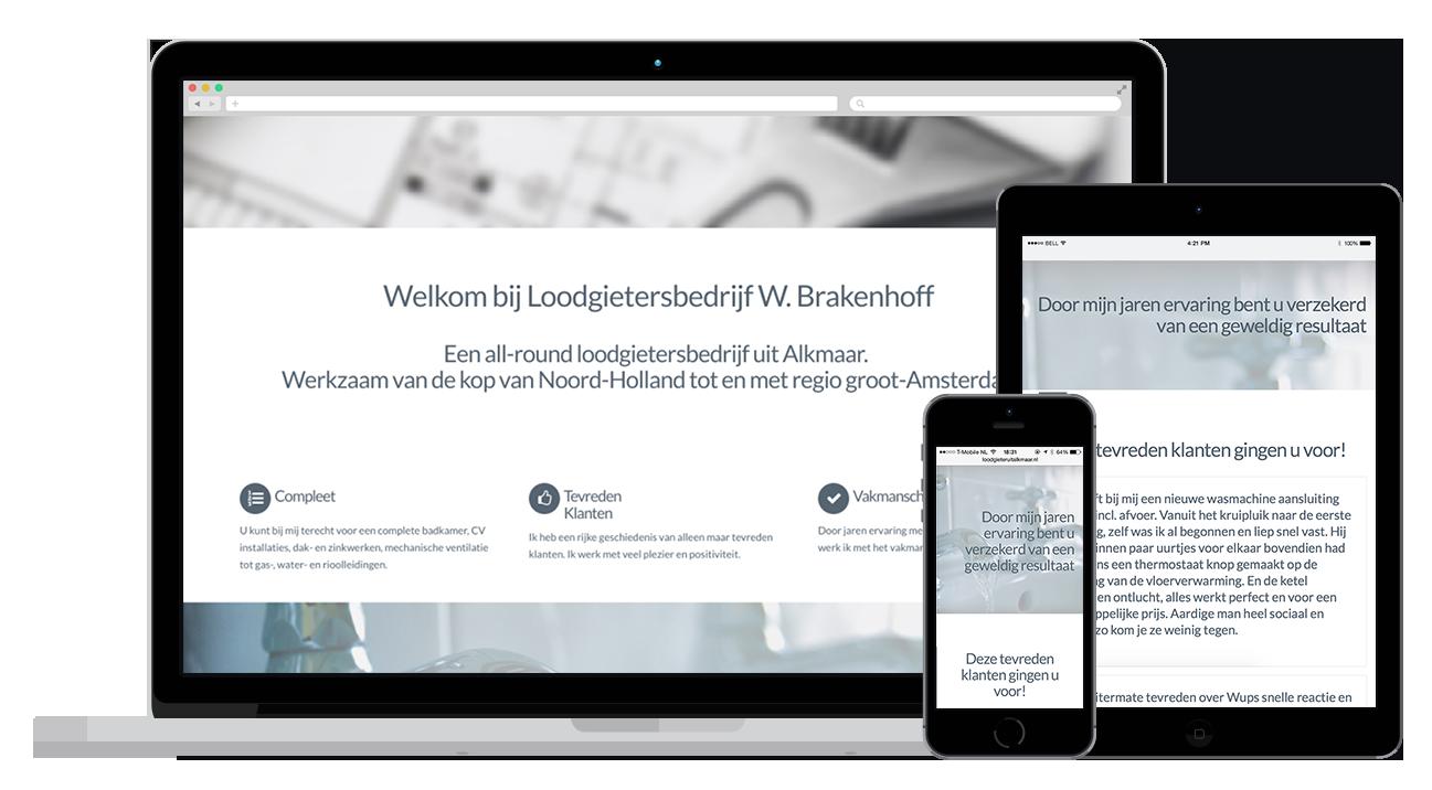 Loodgieter uit alkmaar website